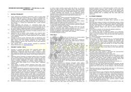 VŠEOBECNÉ OBCHODNÉ PODMIENKY – Infra Services, a.s. ako