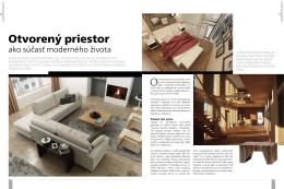 Otvorený priestor - Real Beauty Interior Design sro