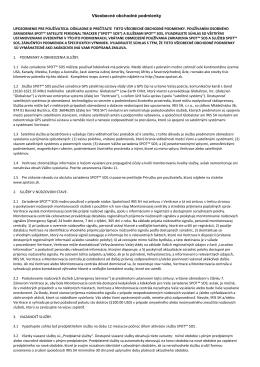 Všeobecné obchodné podmienky (SK)