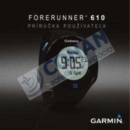 FORERUNNER ® 610