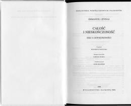E. Levinas, Calosc i nieskonczonosc.pdf