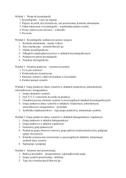 Tematyka wykładów 2014-2015