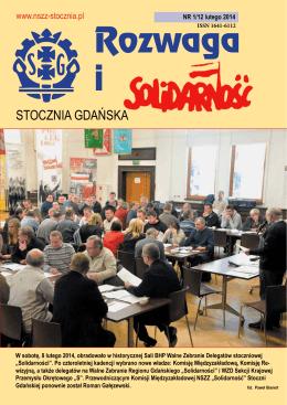 Rozwaga i - Solidarność Stoczni Gdańskiej