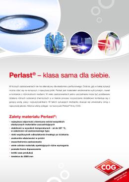 Perlast® – klasa sama dla siebie.