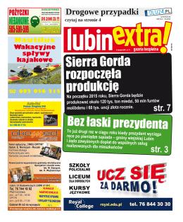 Sierra Gorda rozpoczęła produkcję
