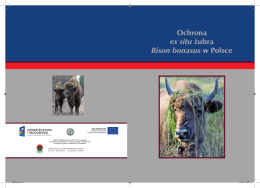 Ochrona Ex Situ Żubra Bison Bonasus w Polsce