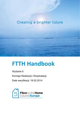 FTTH Handbook - FTTH Council Europe