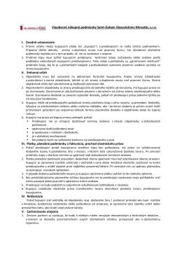 Všeobecné nákupné podmienky (.pdf)