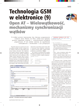 Technologia GSM w elektronice (9)