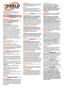 YSHIELD HSF-92 info pl