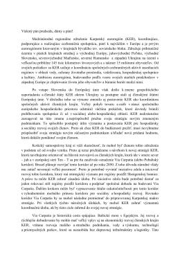 Medzinárodné regionálne združenie Karpatský euroregión (KER)