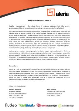 Propozycja działań marketingowych dla R&C Union