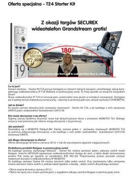 Z okazji targów SECUREX wideotelefon Grandstream gratis!