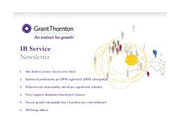 zmeny - Grant Thornton