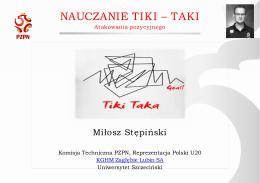 Nauczanie Tiki Taki