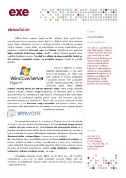 PDF - Virtualizácia