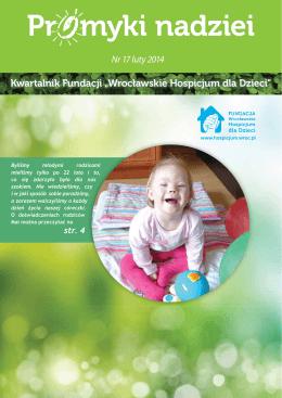 Pr myki nadziei - Fundacja Wrocławskie Hospicjum dla Dzieci