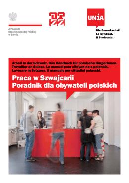Praca w Szwajcarii Poradnik dla obywateli polskich