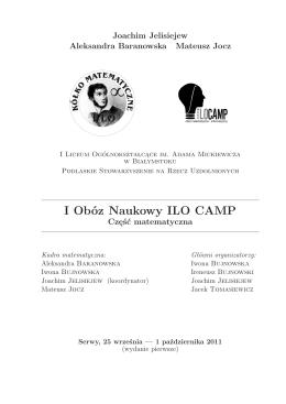 Środek (ok. 2,5MB). - Koło Matematyczne I LO Białystok
