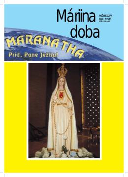Máriina doba 2/2014