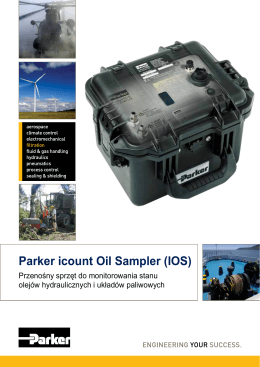 Parker icount Oil Sampler (IOS)