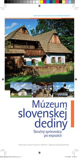 Stručný sprievodca po expozícii - Slovenské národné múzeum v