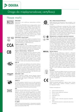 DEKRA Certification - Droga do Międzynarodowej Certyfikacji