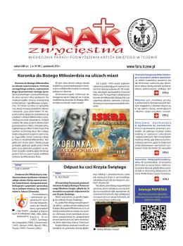 październik 2014 - Parafia Podwyższenia Krzyża Świętego w Tczewie