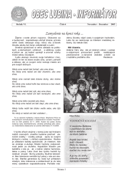 Lubinský informátor 2005/6