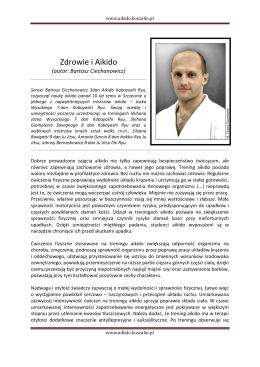 Artykuł autorstwa Bartosza Ciechanowicza prezentujący