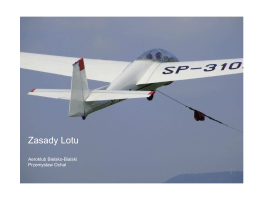 Zasady Lotu - Aeroklub Bielsko Bialski