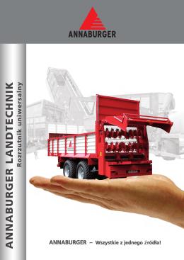 Rozrzutnik uniwersalny - Annaburger Nutzfahrzeug GmbH