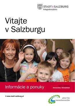 Vitajte v Salzburgu