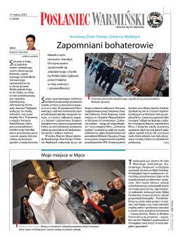 Posłaniec Warmiński 10/2012 (pdf)