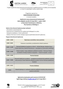 Program spotkania w Wieluniu PDF