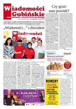 iadomości Gubińskie W