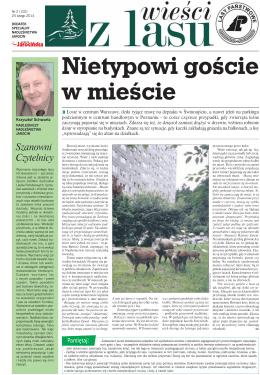 """""""Wieści z lasu"""" Luty Nr 102/2014 (pdf) - Nadleśnictwo Jarocin"""