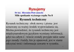 Wykład 8 - Dr inż. Hieronim Piotr Janecki