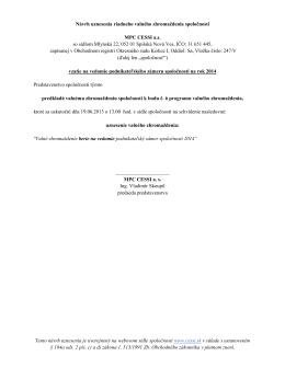 Tento návrh uznesenia je uverejnený na webovom