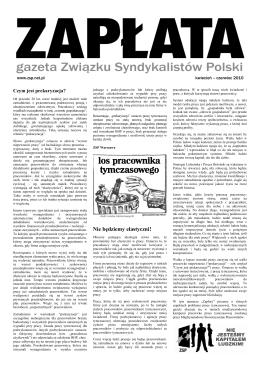 Nie będziemy elastyczni! - Centrum Informacji Anarchistycznej