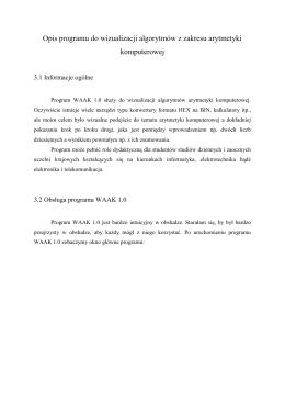 Pomoc programu WAAK 1.0 exe w formacie pdf