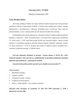 Smernica F3.pdf - Slovenský zväz jachtingu
