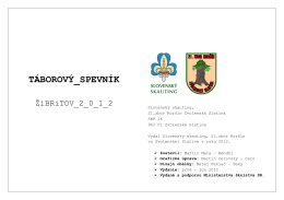Žibritov 2012 (pdf)