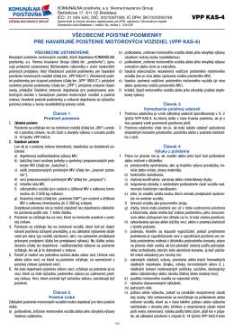 VPP KAS-4 - Komunálna poisťovňa