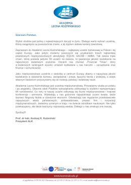 Akademia Leona Kozminskiego wybierzstudia