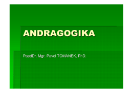 ANDRAGOGIKA - socprac8.sk