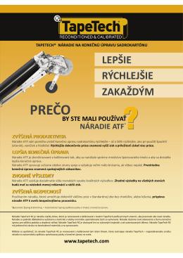 PREČO - TapeTech