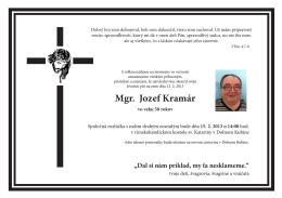 Parte Jozef Kramár