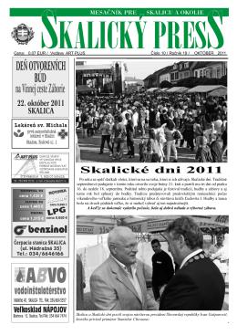 Skalické dni 2011
