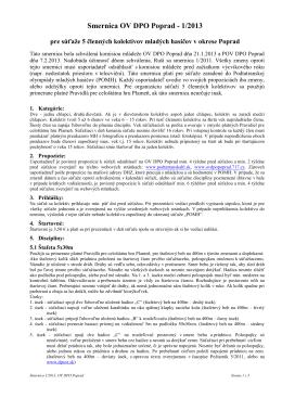 smernica 5èl 1-2013